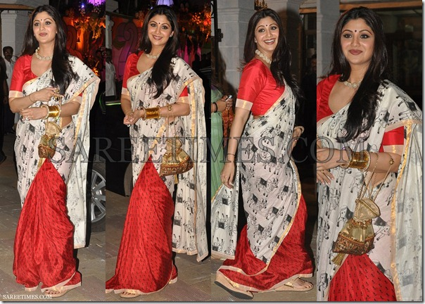 Shilpa_Shetty_Masaba_Saree