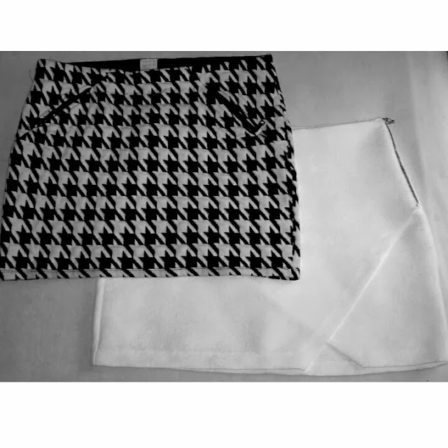 White mini Skirt, White Asymmetrical Skirt, Zara mini Skirt, White Side Slit Skirt, Houndstooth Skirt, Houndstooth Mini Skirt, Houdstooth Print,fashion blogger colombia, fashion blogger cali, fashion blog colombia, blogger colombia, blogger de moda, cali colombia, Houndstooth Pattern