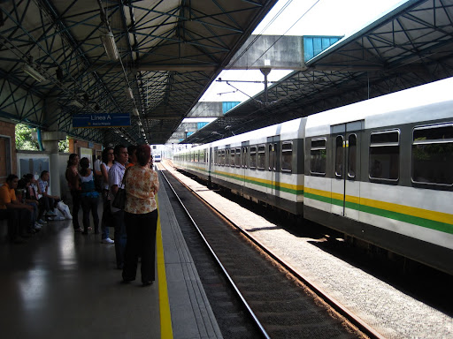 Medellin's excellent metro train service