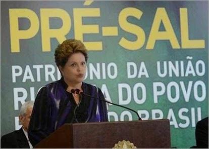 Dilma-pré-sal