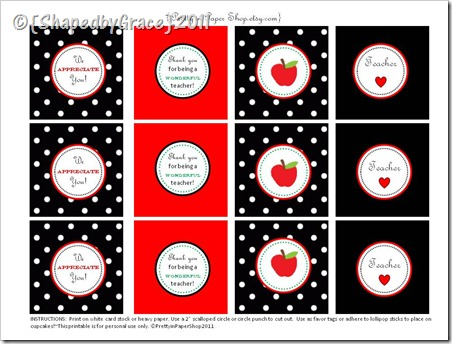 TeacherAppreciatePrintables