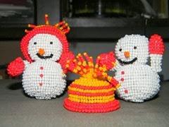 két hóember