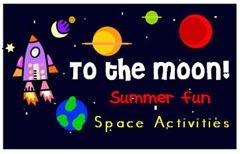 Galaxies Preschool Space Theme Art