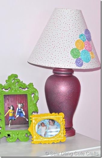 Glitter-Lamp