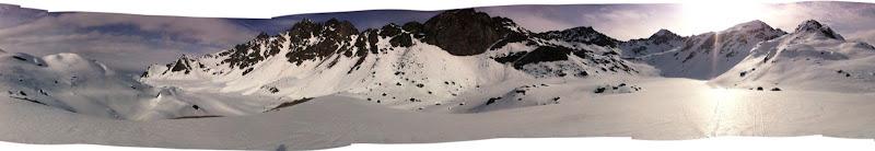 Panoramic near upper Reed Lake