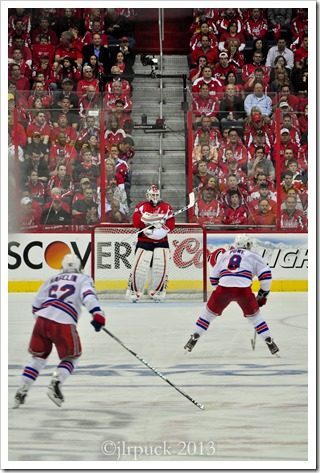 There stands Holtby like a stone wall