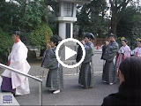 Video - A traditional Japanese wedding at Togo Shrine