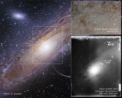 estrela variável descrita por Edwin Hubble