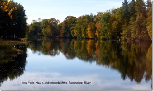 New York, Hwy 4, Adirondack Mtns, Sacandaga River