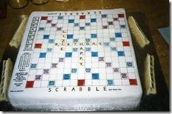 Lizie Scrabble cake