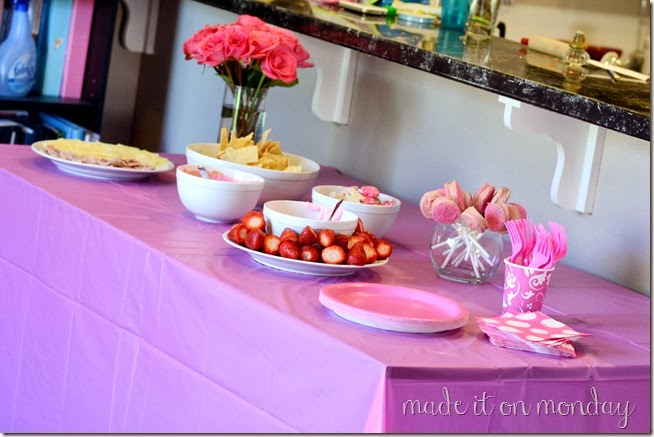 Tickled Pink First Birthday Party @ Made it on Monday