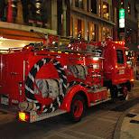 firetruck in hiroshima in Hiroshima, Hirosima (Hiroshima), Japan