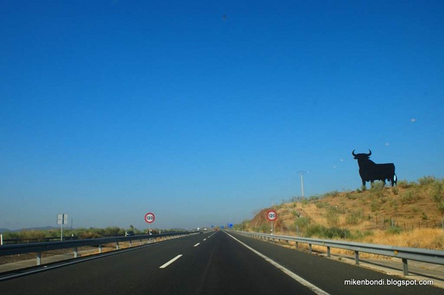 a familiar sight along Spanish highways