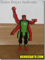 quatro braços nurificador Bonecos Ben 10 Força Alienígena - brinquedos