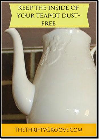 Dust-free teapot @ TTG