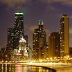 Oak Street Beach in Chicago, IL