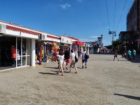 Zona pedestra Mamaia