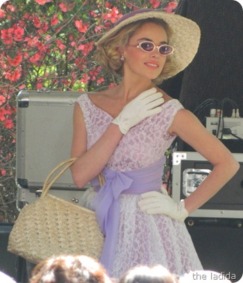 Fifties Fair Fashion Daywear Purple