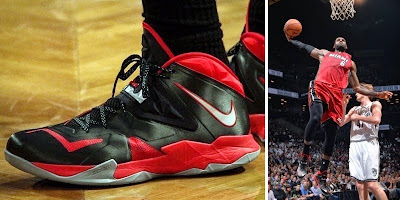 nike zoom soldier 7 pe timeline 140512 shoe soldier7 playoffspe King James and His 26 Different Nike Zoom Soldier VIIs in 2013 14
