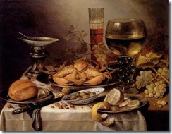 10565_Banquet_Still_Life_With_A_Crab_On_A_Silver_Platter__A_Bunch_Of_Grapes__A_Bowl_Of_Olives__And_A_Peeled_Lemon_All_Resting_On_A_Draped_Tabl_f
