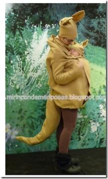 disfraz casero de canguro