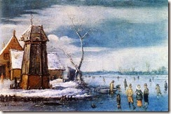 Hendrick-Avercamp-A-Farm-to-the-Left-of-a-Frozen-River