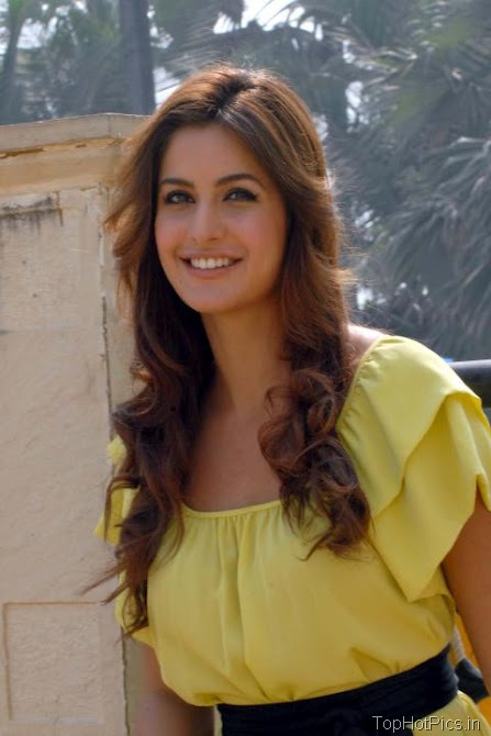 Katrina Kaif Sweet Photos in Short Yellow Dress 3