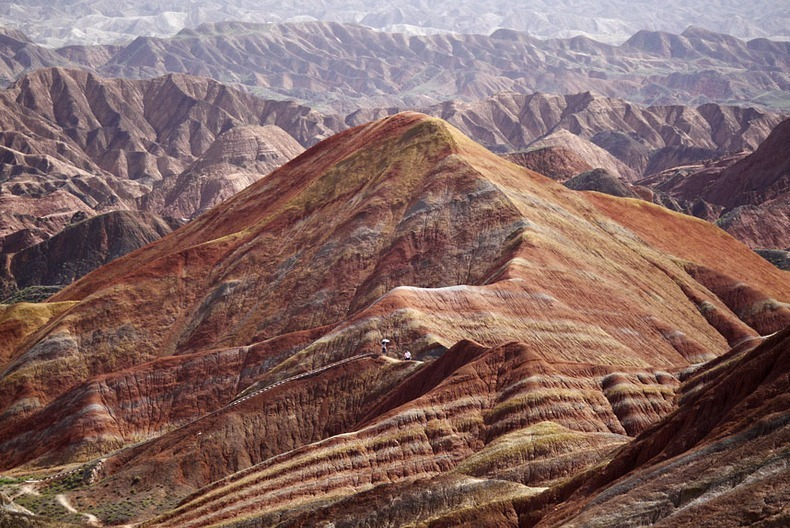 Colorful Danxia Landforms Of China | Amusing Planet