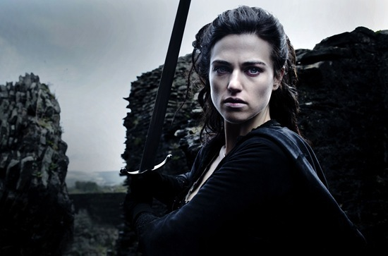 Katie McGrath is Morgana Pendragon in Merlin - The Diamond of the Day
