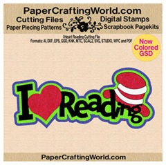 i heart reading papered-cf-350
