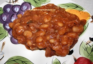 Baked Pork n Beans - had to sample them B