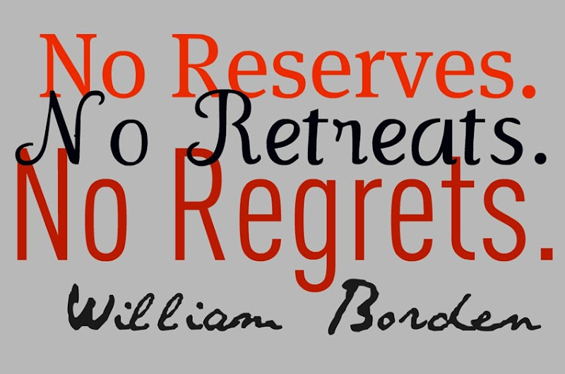 no retreats