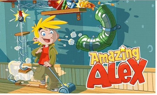 Amazing Alex puzzle game