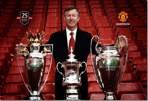 SAF with treble trophies