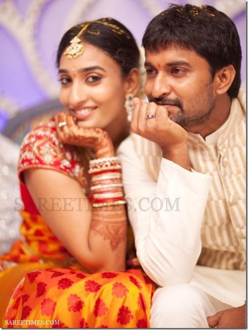 Actor Nani Anjana Enagagement Photos