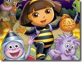 Quebra-cabeça Halloween da Dora