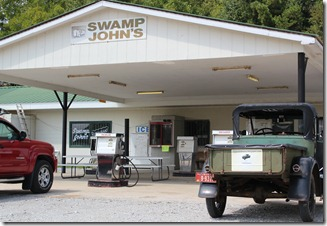 Swamp Johns outside