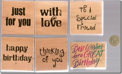 WORD STAMPS 1