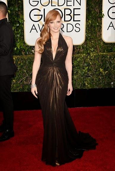 Jessica Chastain de Atelier Versace