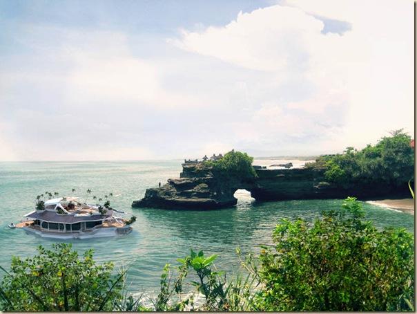 Orsos Island - une île privée flottante