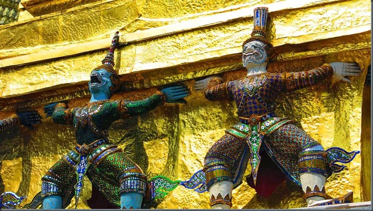 buddhist temples thailand bankok sailing sv delos