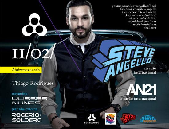 Steve Angello na Anzu Club em Itu