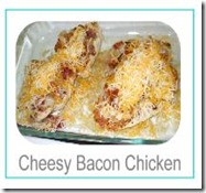 cheesy bacon chicken button