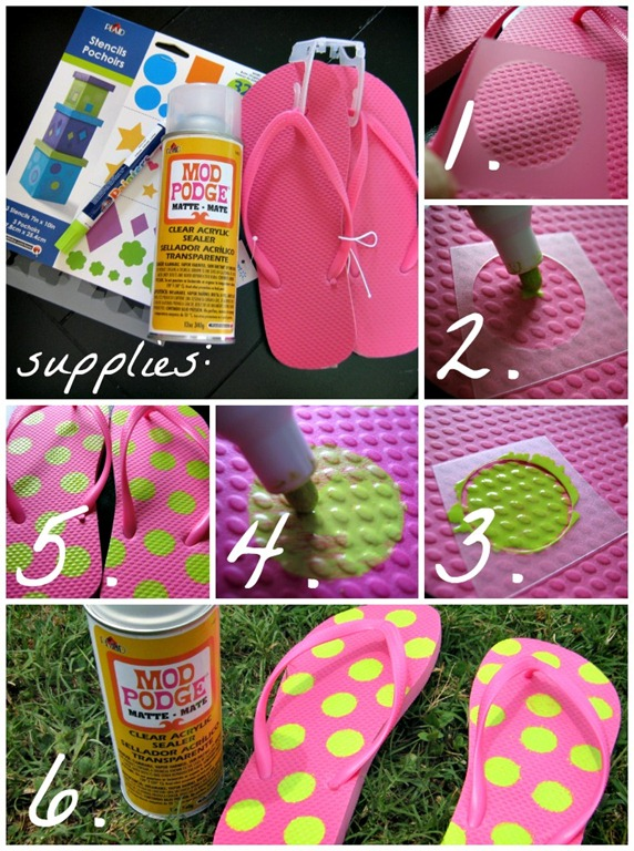 flip flops tutorial