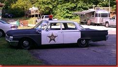 Mayberry Patrol car