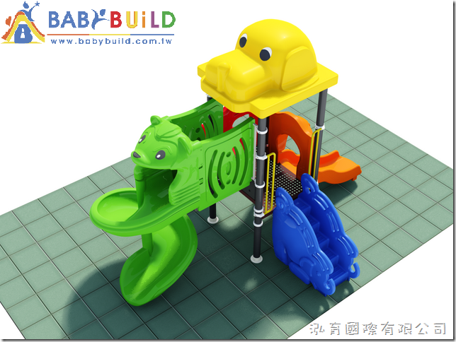 BabyBuild 兒童遊具設計