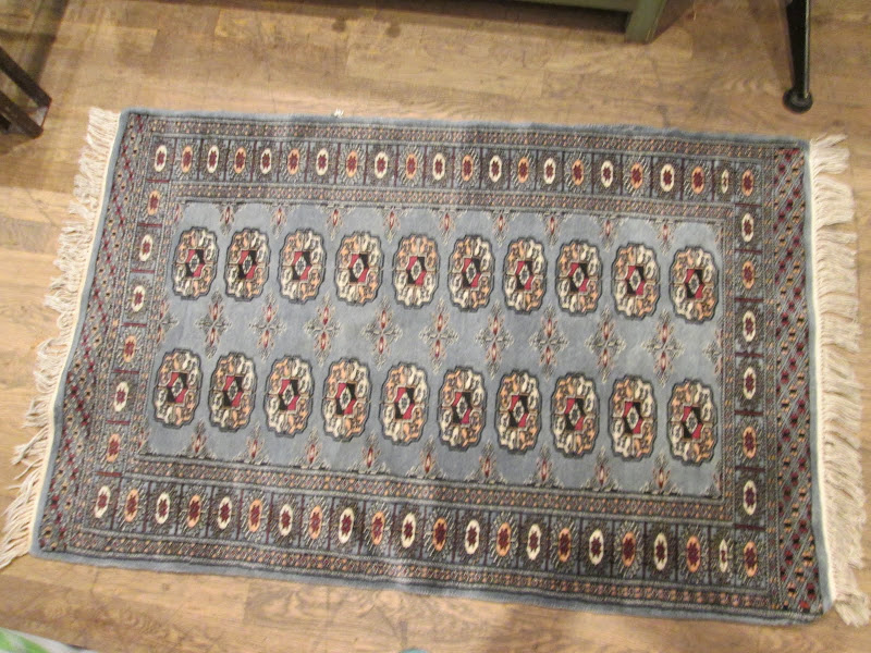 Small Light Blue Rug