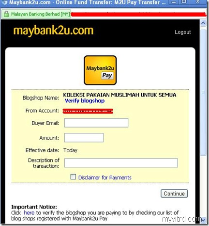 Maybank2u Pay 1