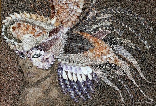 Mosaics Sand Shells