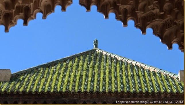 Tejas verdes, el color del Islám